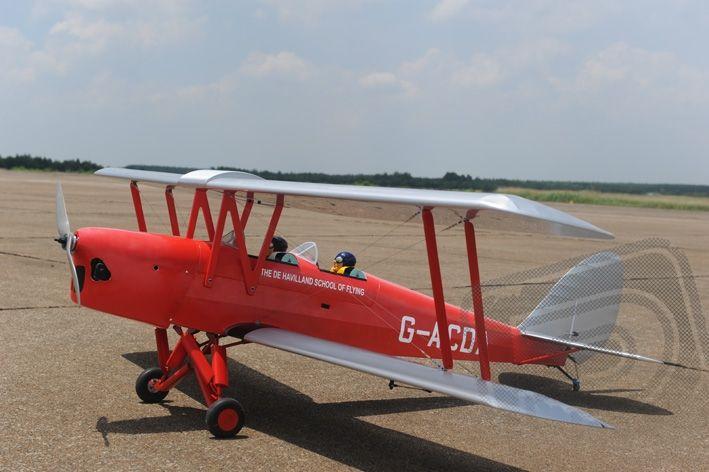 TPM06 Tiger Moth 2270mm ARF 25-35ccm