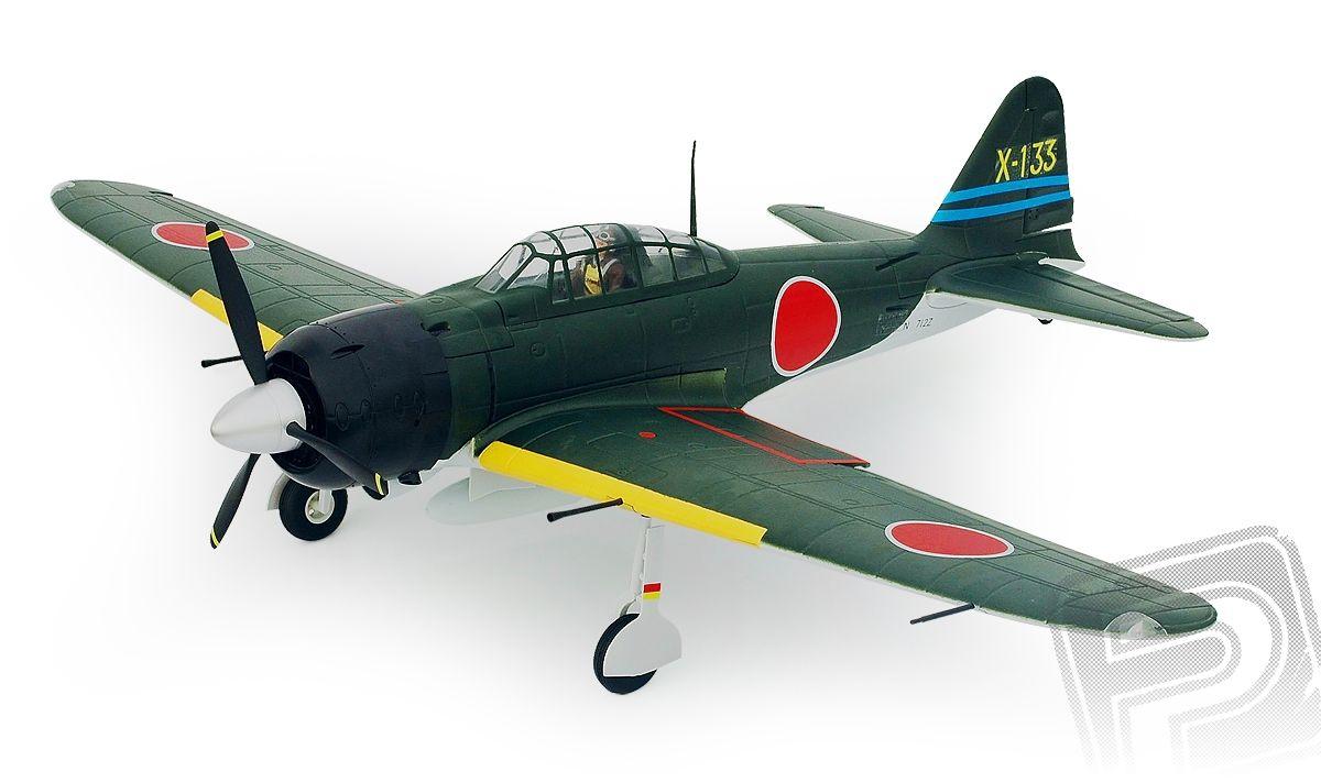 A6M Zero EPP 1400mm ARF (el. zatahovací podvozek)