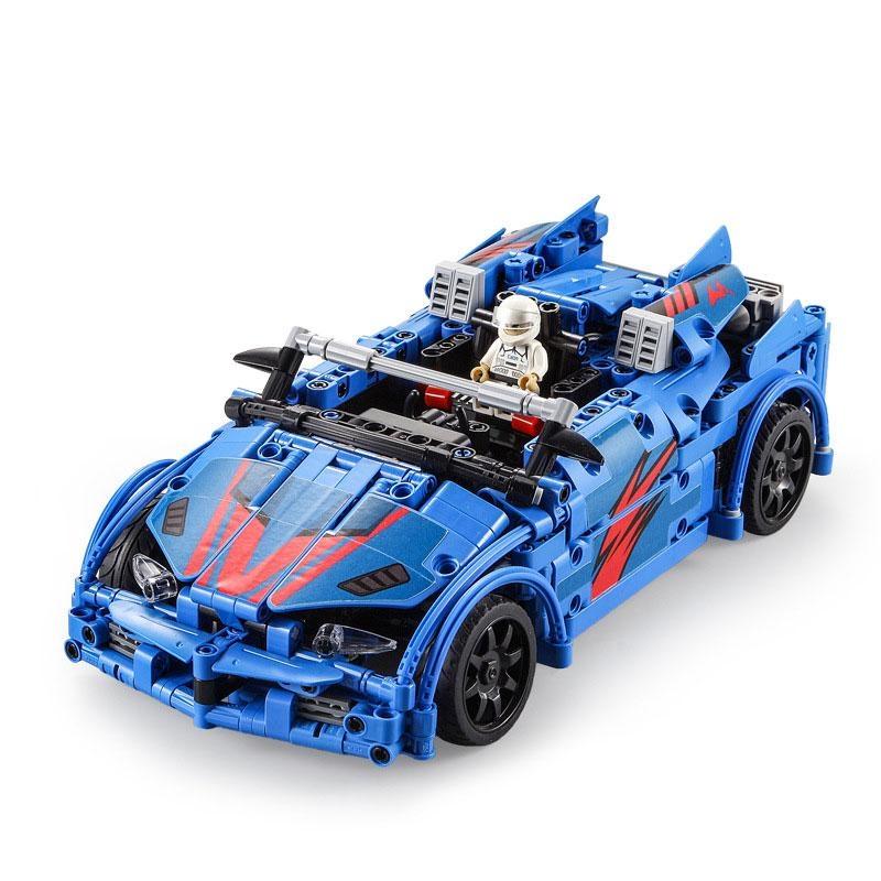 Crash car RC stavebnice z kostek