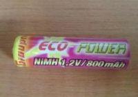 ECO POWER Graupner - NiMH 1,2V/800 mAh