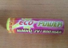 ECO POWER Graupner - NiMH 1,2V/800 mAh