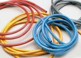 Silikonový kabel 2,6qmm, 13AWG, 1metr, zelený
