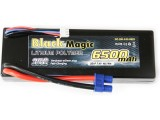 LiPol Car Black Magic 7.4V 6500mAh 35C EC3