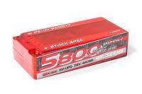 P5-HV Shorty Stock Spec GRAPHENE-2 5800mAh Hardcase - 7,6V - 120C/60C