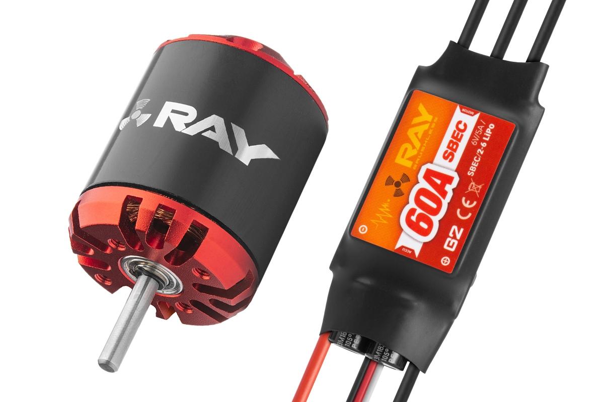 Combo set RAY G3 C3548-800 + RAY G2 60A regulátor