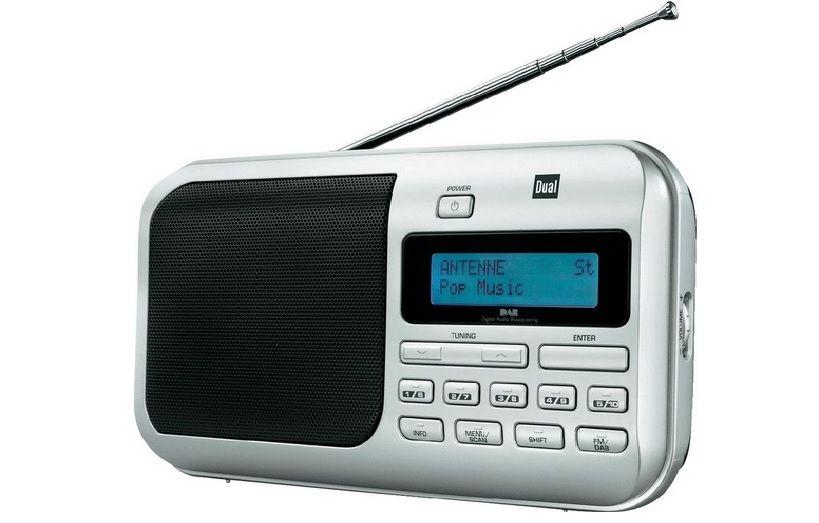 DAB+ rádio DAB 4 Dual