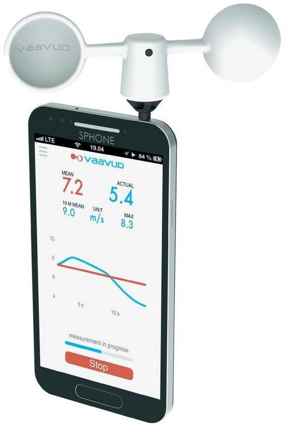 Vaavud Smartphone měřič větru Thor pro Samsung Galaxy S a Apple iPhone