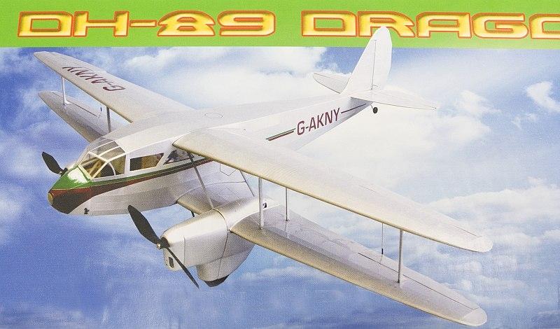deHavilland DH-89 Dragon Rapide 1067mm