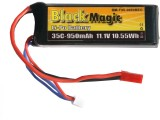 Black Magic LiPol 11.1V 950mAh 35C JST