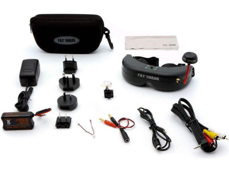 Spektrum - Ultra Micro FPV sada s headsetem