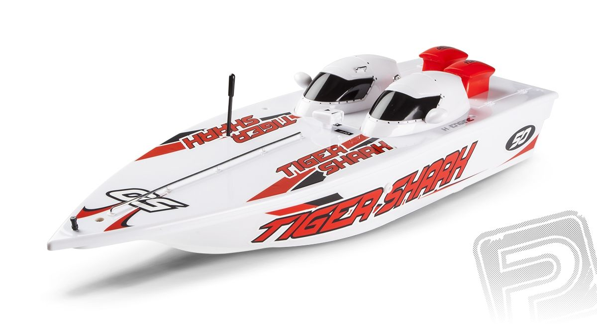 Tiger Shark 525mm, RC set 2,4GHz