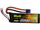 Black Magic LiPol 11.1V 2200mAh 25C EC3