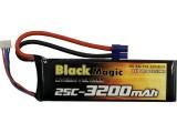LiPol Black Magic 11.1V 3200mAh 25C EC3