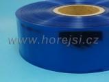Smšť. bužírka 68 mm modrá tr.