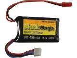 LiPol Black Magic 11.1V 450mAh 50C JST