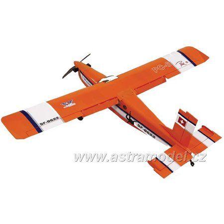 Pilatus PC-6 Turbo-Porter .40 ARF oranžový