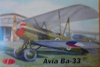 Avia Ba-33 1/72 AZ model plastiková stavebnice