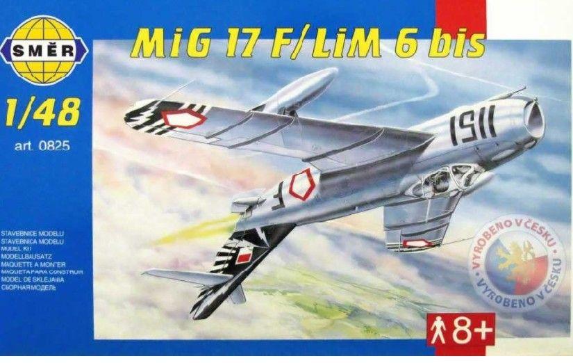 Mig 17 F plastikový model letadla 1/48 Směr