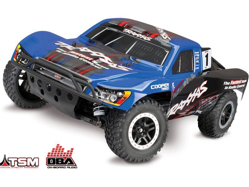 Traxxas Slash 1:10 4WD VXL TQi BlueTooth Ready OBA TSM