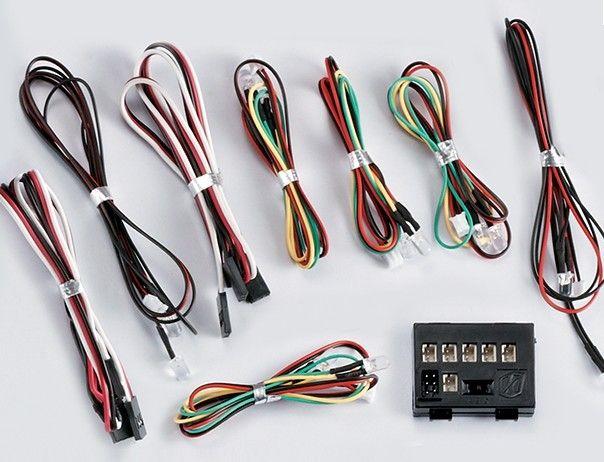 světelný set 12x LED diod