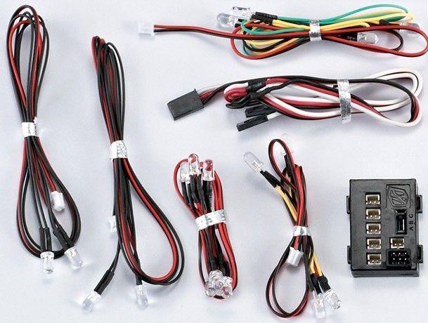 světelný set 18x LED diod