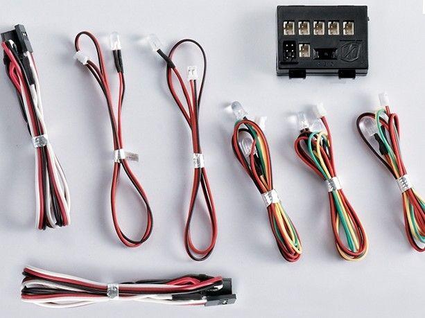 světelný set 8x LED diod