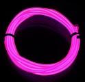 TRON LED Wire Light Tube Kit - růžová