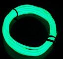 TRON LED Wire Light Tube Kit - zelená