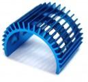 ALU chladič 540 motoru - modrý