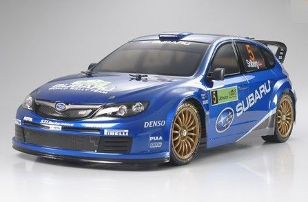 karoserie Subaru Imprezza WRC 2008 TAMIYA