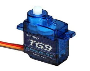 Mikro servo 9g TG9e