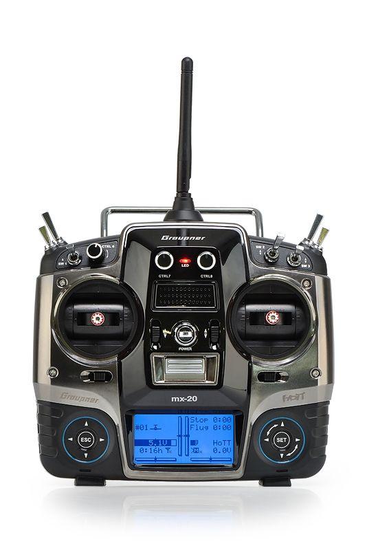 MX-20 2,4GHz HOTT RC souprava
