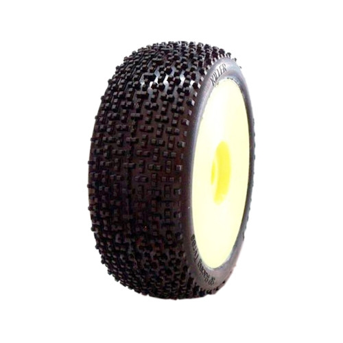 1/8 KILLER COMPETITION OFF ROAD gumy nalepené gumy, EX.SUP.S. směs, žluté disky, 2ks.