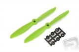 Vrtule HQ 6x4,5 CW 1 pár (zelená)