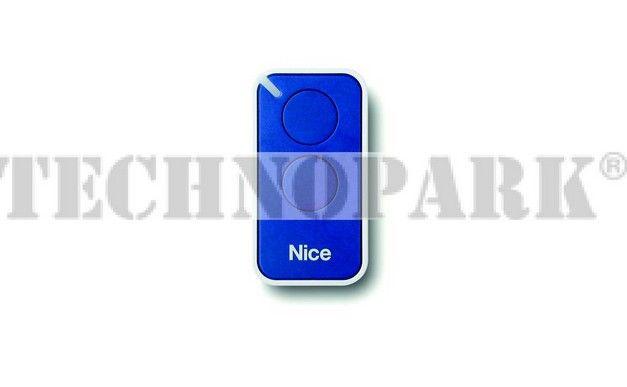 INTI2B - Dálkový ovladač dvoutlačítkový modrý