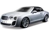 Bburago 1:18 Plus Bentley Continental Supersports stříbrná