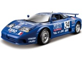 Bburago 1:18 Plus Bugatti EB 110 Le Mans 1994 modrá