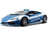 Bburago 1:18 Plus Lamborghini Huracán LP 610-4 Polizia modrá