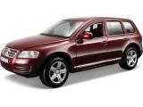 Bburago Volkswagen Touareg 1:24 červená