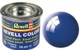 Barva Revell syntetická 14ml - modrá lesklá č.52