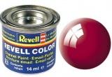 Revell syntetická 14ml - červená ferrari lesklá č.34