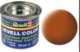 Revell syntetická 14ml - hnědá matná č.85