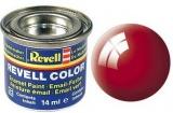 Revell syntetická 14ml - ohnivá červená lesklá č.31