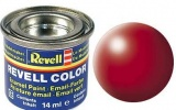 Revell syntetická 14ml - ohnivě rudá polomatná č.330
