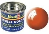 Revell syntetická 14ml - oranžová lesklá č.30