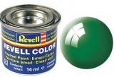 Revell syntetická 14ml - smaragdově zelená lesklá č.61
