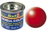 Revell syntetická 14ml - světle červená polomatná č.332