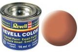 Revell syntetická 14ml - světle oranžová matná č.25