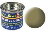 Revell syntetická 14ml - žlutá olivová matná č.42