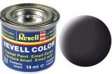 Revell syntetická 14ml - dehtová černá matná  č.6